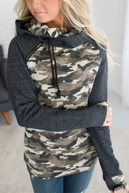 Doublehood Camo Accent Sweatshirt