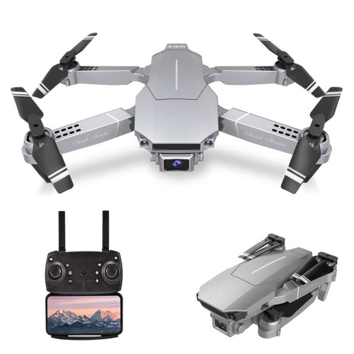 E98 RC Drone with Camera 4K Drone Dual Camera & A Bag