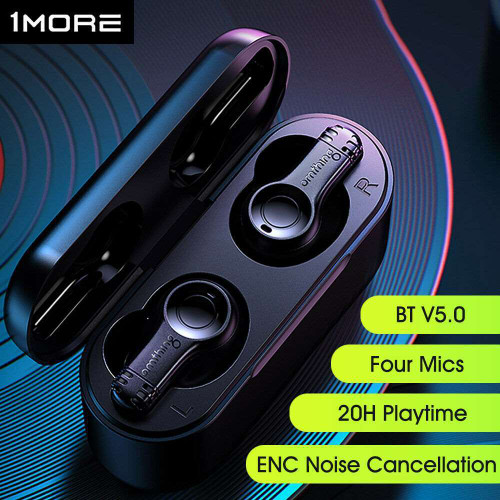 1MORE Omthing TWS Earbuds BT 5.0 Touch Control Stereo ENC Noise Cancellation