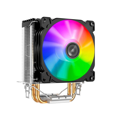 Jonsbo CR-1200 LED CPU Radiator Cooling Fan 2 Heat Pipes