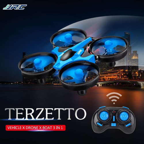 JJRC H36F TERZETTO 3 in 1 Drone Air Ground Water Mode