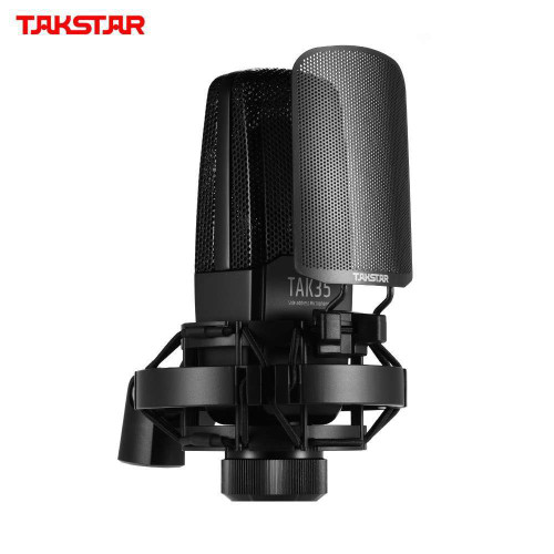 TAKSTAR TAK35 Professional Recording Microphone for Network Karaoke Live Broadcast Vocal Recording