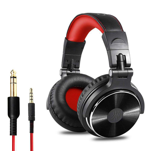 Professional Musical Instrument Monitor Headphones with 3.5mm & 6.5mm Audio Cables