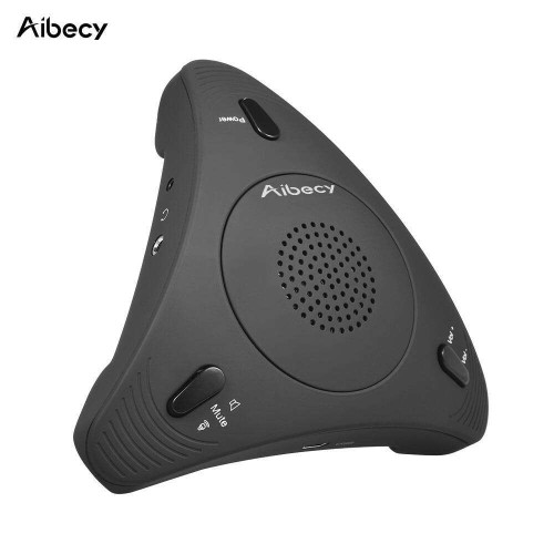 Aibecy 360 USB Microphone With Speaker For Conference Meetings
