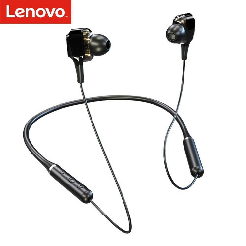 Lenovo XE66 In-Ear BT Earphones Quad Drivers BT 5.0 Wireless Headphones Magnetic Sport Earbuds with Mic Noise