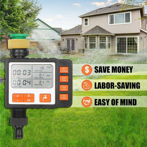 Digital Water Timer Programmable Outdoor Automatic On Off Water Faucet