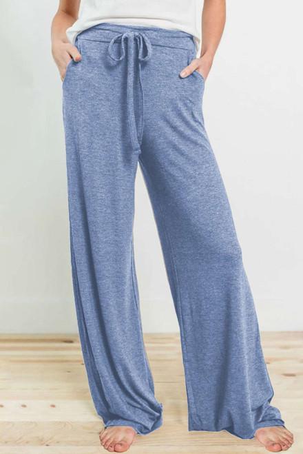 Blue Drawstring Lounge Pants