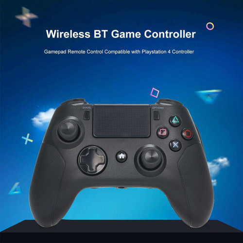 Game Controller Remote Control Compatible with PS4 Controller with Double Vibration Touchpad 3.5mm Audio Jack for PS4 PC