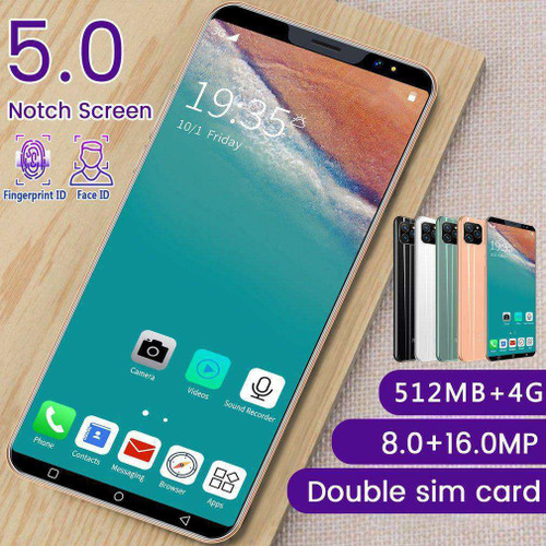I13 5.0 Inch Large Screen Android Smartphone Dual Card Dual Standby Phone 512Mb4Gb Android Smartphone