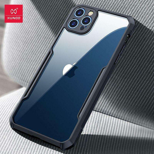 iPhone 12 Pro 6.1 Case XUNDD Airbag Shockproof Protective Transparent Back Cover for iPhone 12 Pro Max Case