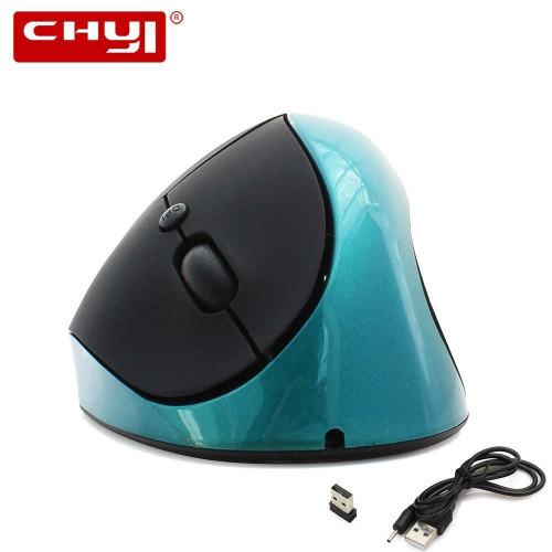2.4G Wireless Vertical Mouse Rechargeable Ergonomic USB Cordless 1600DPI Optical Mause 5D Computer Gaming Mice for Laptop PC