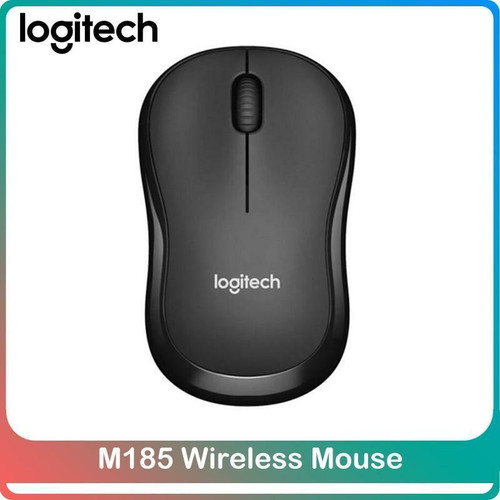 Logitech M185 Wireless Mouse 1000 DPI 2.4Ghz Optical Office Game Mouse With USB Nano Receiver For Windows Mac Desktop Laptop PC
