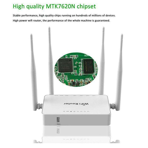 WE1626 Wireless WiFi Router For 3G 4G USB Modem With 4 External Antennas 802.11g 300Mbps
