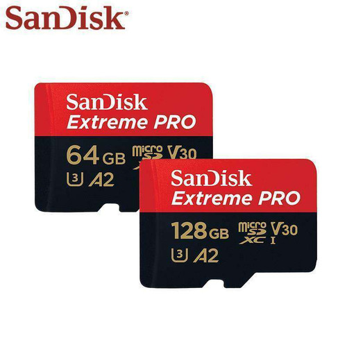 SanDisk Extreme Pro Micro SD Card up to 170MB/s A2 V30 U3 With Adapter