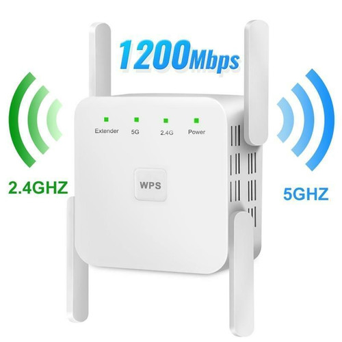 5Ghz Wireless WiFi Repeater 1200Mbps Router Wifi Booster