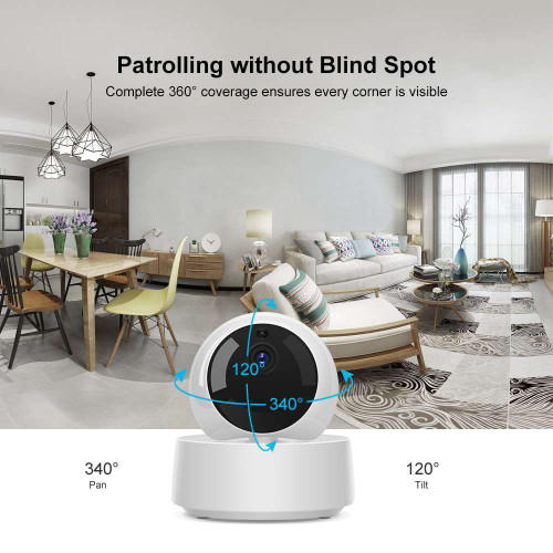 Sonoff 1080P HD IP Security Camera WIFI Wireless APP Controlled GK-200MP2-B Motion Detective