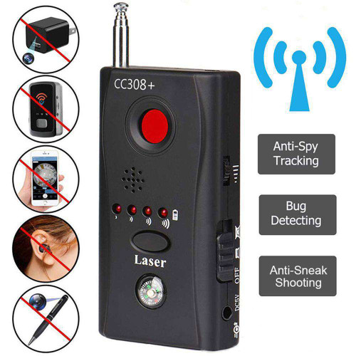 Multi-Function Wireless Camera Lens Signal Detector & GSM Finder