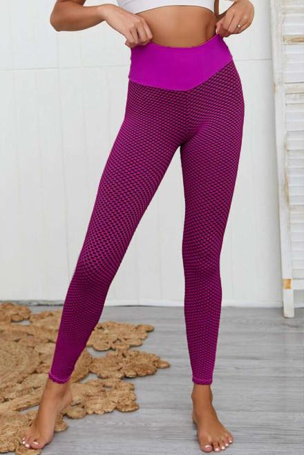 Rose High Waisted Butt Lifting Yoga Gym Leggings