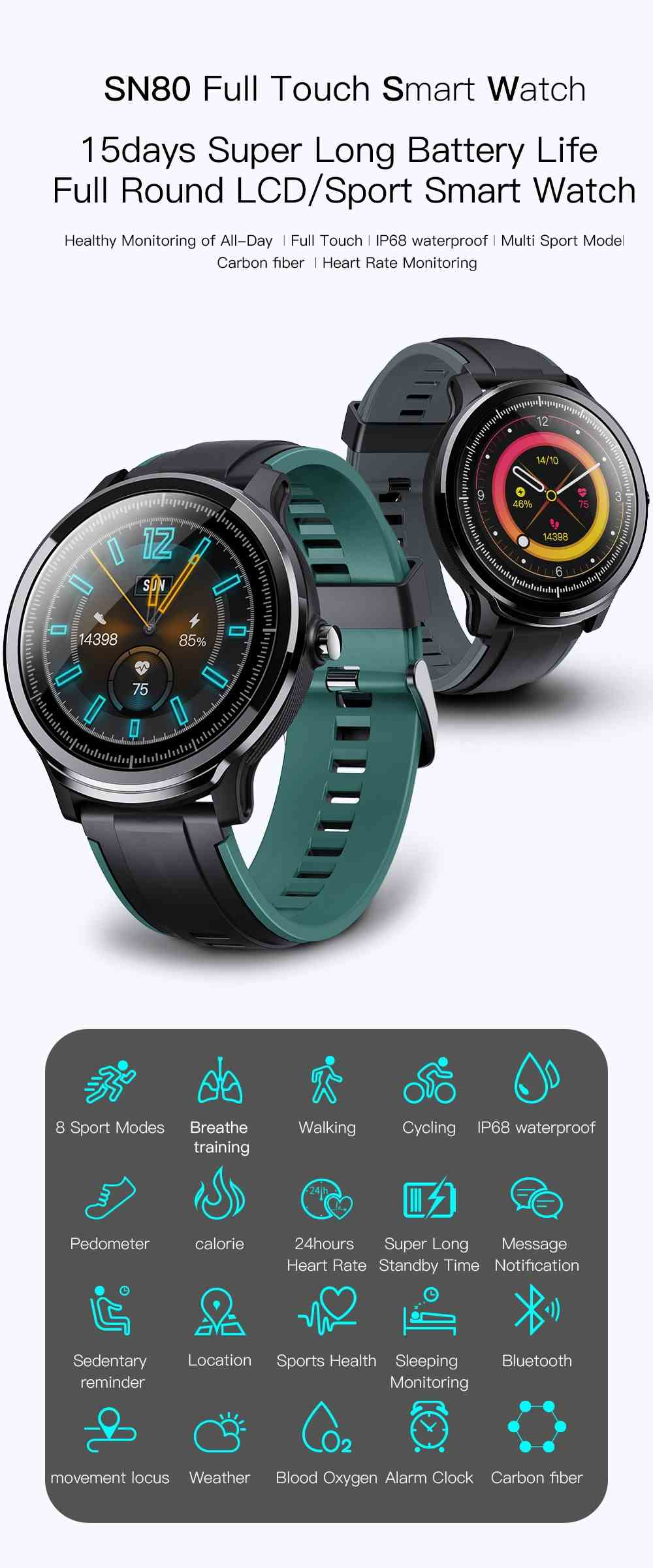 Kospet Probe Smartwatch