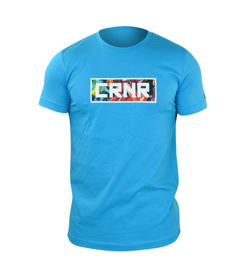 Artangle T-Shirt | Aqua
