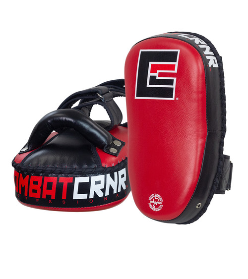 Thai Pads Red - HMIT by Combat Corner