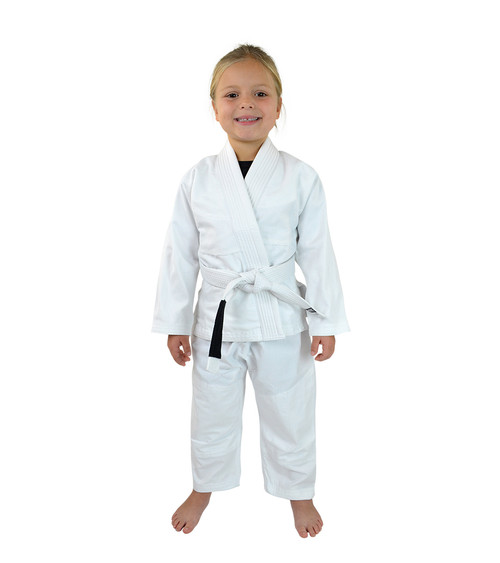 White Kids BJJ GI