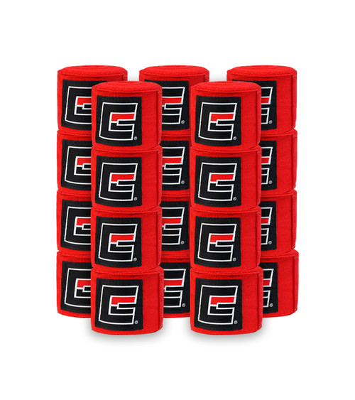 "Red Pro hand wraps 180"" length"