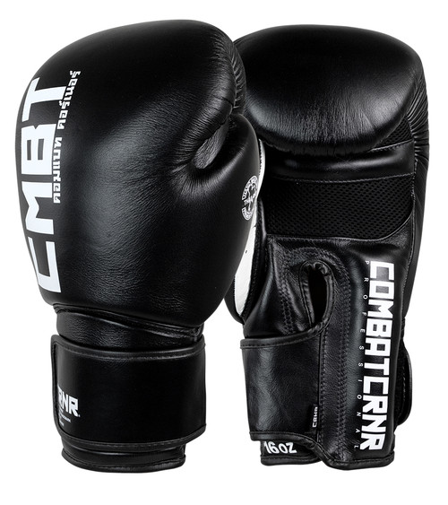 Muay Thai Gloves Black | HMIT Combat Corner