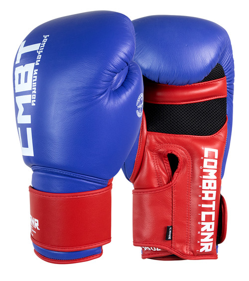 Muay Thai Gloves, Boxing Gloves, Blue Boxing Gloves, Combat Corner Boxing Gloves, HMIT Gloves
