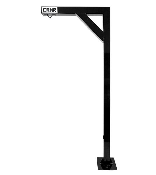 Hang Man heavy bag hanger, heavy bag mount, heavy bag stand, floor mount punching bag stand, punching bag stand