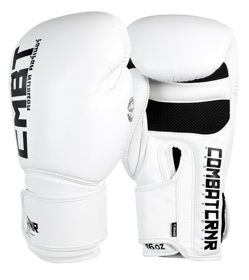 Muay Thai Gloves White | HMIT Combat Corner