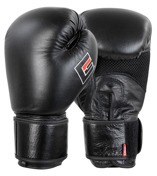 Elite Boxing Gloves, Elite Leather Boxing Gloves, Combat Corner Gloves, Black Leather Boxing Gloves, Black Boxing Gloves