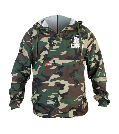 Combat Corner Wind Breaker, Camo Wind Breaker, CRN Wind Breaker, MMA Warm Up, MMA Wind Breaker