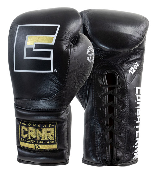 HMIT Lace Up Boxing Gloves, Combat Corner Boxing Gloves, Boxing Gloves Black, Mexican Boxing Glove, Thai made Boxing Gloves, Lace Up Boxing Gloves