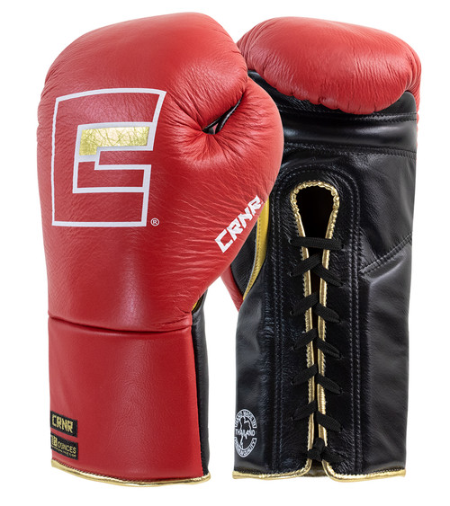 HMIT Punchers Gloves, Combat Corner Boxing Gloves, HMIT Lace Up Boxing Gloves, Professional Fight Gloves