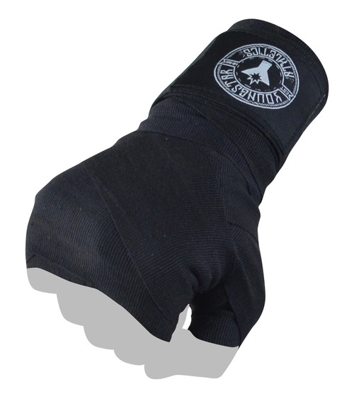 youth 120 black hand wraps