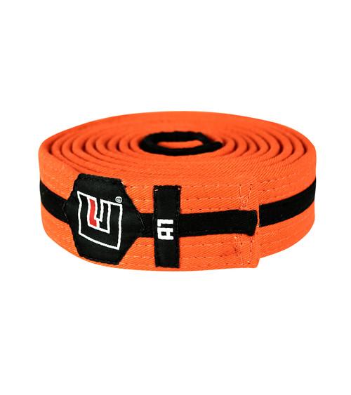BJJ Belt Orange/Black