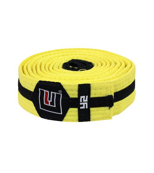 BJJ Belt Yellow/Black