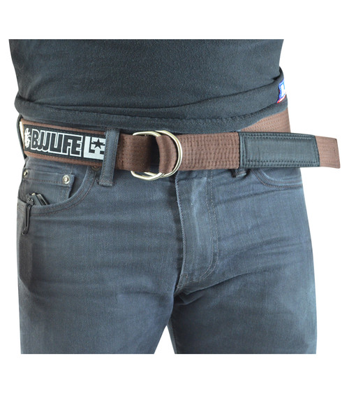 BJJ Life Street Belt Brown