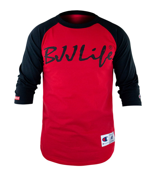 BJJ Life x Champion Flow 3/4 Sleeve Raglan T-Shirt
