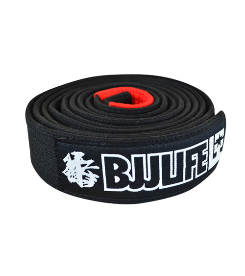 BJJLife Pearl Weave BJJ Belt (Black)