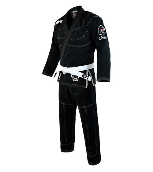 Black v5 BJJ GI - FREE WHITE BELT [CLOSEOUT]