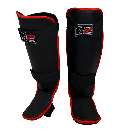 C2 Shin Guards | Red