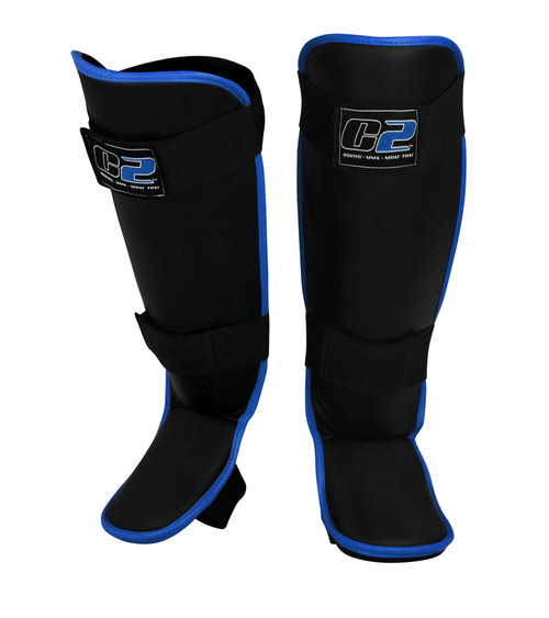 C2 Shin Guards | Blue