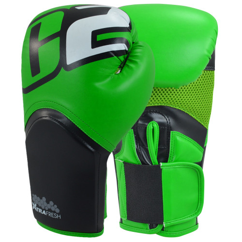 C2 Turbo Green Boxing Gloves - Combat Corner