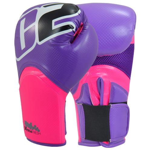 C2 Turbo Pink & Purple Boxing Gloves - Combat Corner
