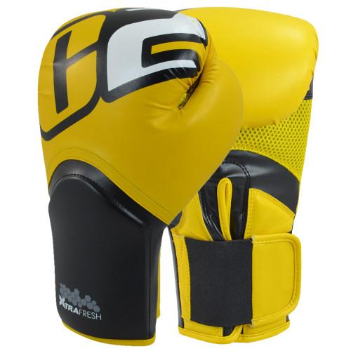 C2 Turbo Yellow Boxing Gloves - Combat Corner