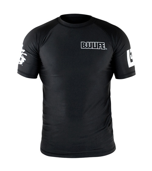 CompLite Ranked Rash Guard | Black Belt