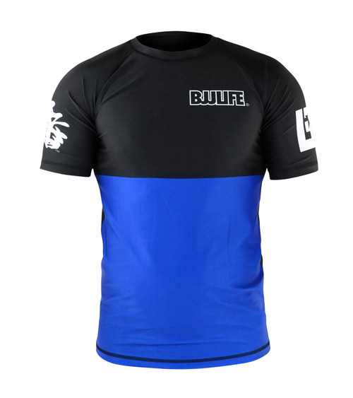 CompLite Ranked Rash Guard | Blue Belt