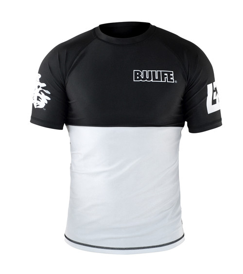 CompLite Ranked Rash Guard | White Belt